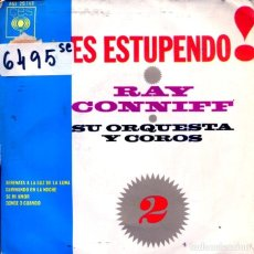 Dischi in vinile: RAY CONNIFF ( ES ESTUPENDO¡ VOL.2) / SERENATA A LA LUZ DE LA LUNA + 3 (EP1963). Lote 123487699