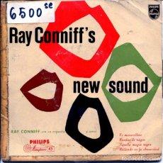 Dischi in vinile: RAY CONNIFF (NEW SOUND - VOCES EN LA ORQUESTA) / ES MARAVILLOSO + 3 (EP 1958). Lote 123488023