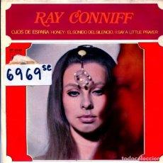 Dischi in vinile: RAY CONNIFF / OJOS DE ESPAÑA / EL SONIDO DEL SILENCIO + 2 (EP 1968). Lote 123488403