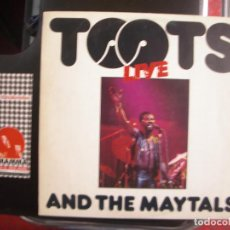 Discos de vinilo: TOOTS AND THE MAYTALS- LIVE. LP. Lote 123491687