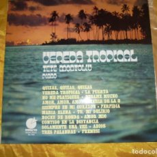 Discos de vinilo: VEREDA TROPICAL. PIANO TETE MONTOLIU. IMPACTO, 1975. Lote 123516395