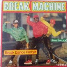 Discos de vinilo: TER BREAK MACHINE DANCE '83 VG LP. Lote 123519123