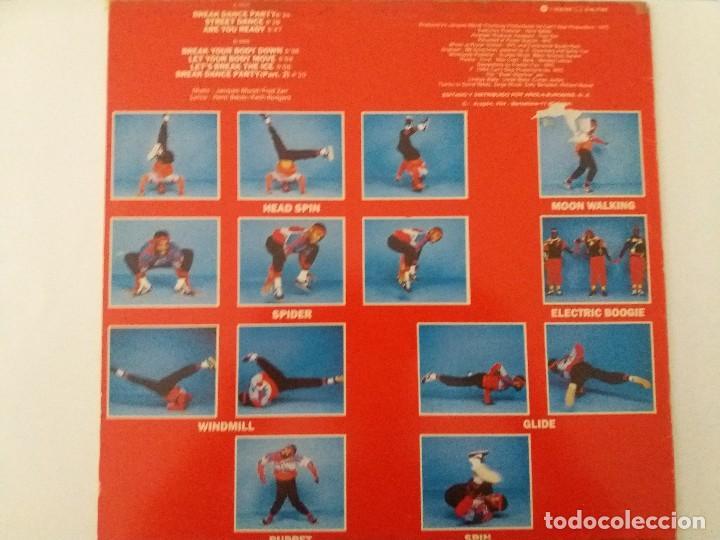 Discos de vinilo: Ter break machine dance '83 vg lp - Foto 2 - 123519123