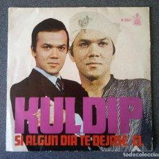 Discos de vinilo: SINGLE EP KULDIP SI ALGÚN DÍA TE DEJASE EL. Lote 123519139