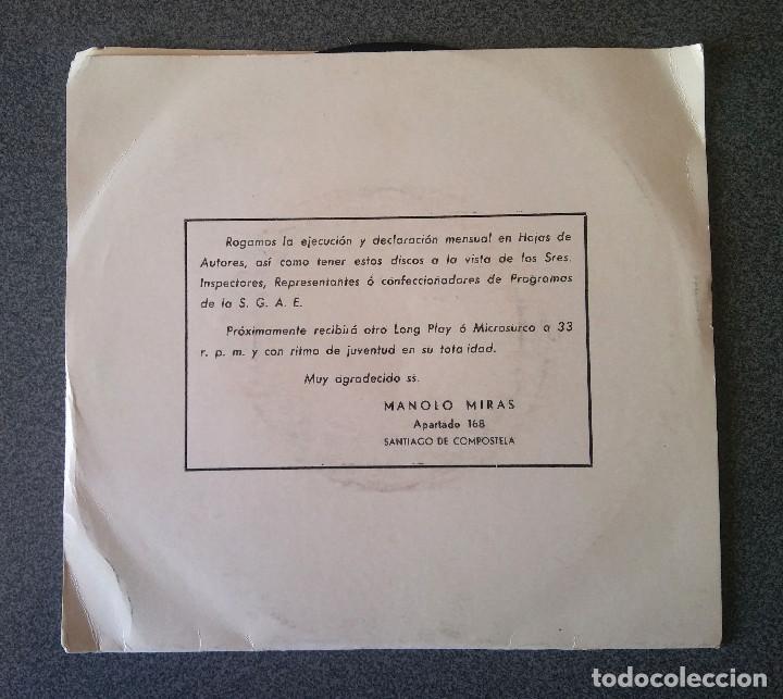 Discos de vinilo: Manolo Miras y su Conjunto Los Mirmans - Foto 2 - 123519387