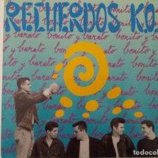 Discos de vinilo: TER RECUERDOS KO BONITO Y BARATO RECIEN DESPRECINTADO EXCELENTE. Lote 123519767