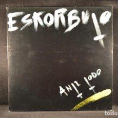 Discos de vinilo: ESKORBUTO - ANTI TODO - LP 1ª EDICION DS - 5. Lote 123520603