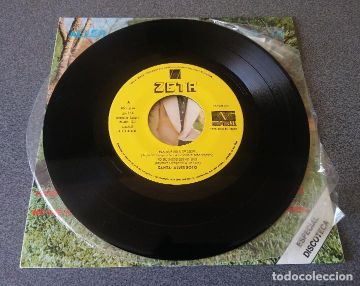 Discos de vinilo: Single Ep Aller Soto con su Grupo 74 - Foto 3 - 123522303