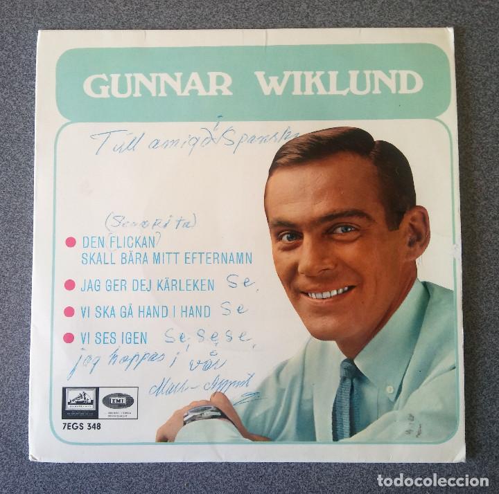 SINGLE EP GUNNAR WIKLUND (Música - Discos de Vinilo - EPs - Cantautores Internacionales)