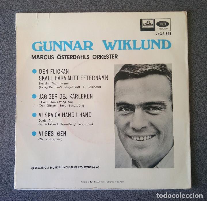 Discos de vinilo: Single Ep Gunnar Wiklund - Foto 2 - 123522759