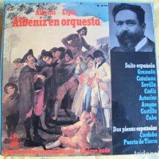 Discos de vinilo: LP - ALBENIZ-ESPLA - ALBENIZ EN ORQUESTA (SPAIN, HISPAVOX 1965). Lote 123526195