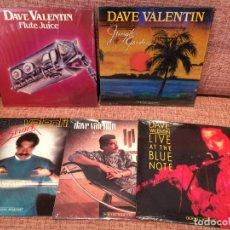 Discos de vinilo: LOTE DE 4 VINILOS DE DAVE VALENTIN. Lote 123529983