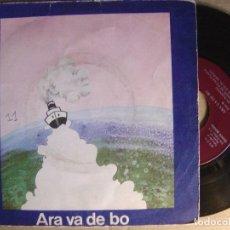 Discos de vinilo: ARA VA DE BO - LES NOIES - EP 1974 - EDIGSA - CAIXA D´ESTALVIS DE MANRESA. Lote 123530507