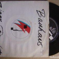 Discos de vinilo: BAUHAUS - ZIGGY STARDUST + THIRD UNCLE - SINGLE UK 1982 - BEGGARS BANQUET. Lote 123532823