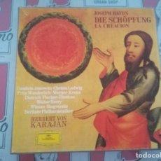 Discos de vinilo: JOSEPH HAYDN DIE SCHÖPFUNG LA CREACIÓN. Lote 123534535