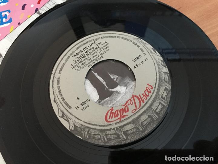 Discos de vinilo: KAKA DE LUXE ALASKA MOVIDA (ROSARIO +3) EP ESPAÑA 1978 PROMO (EPI12) - Foto 3 - 123542195
