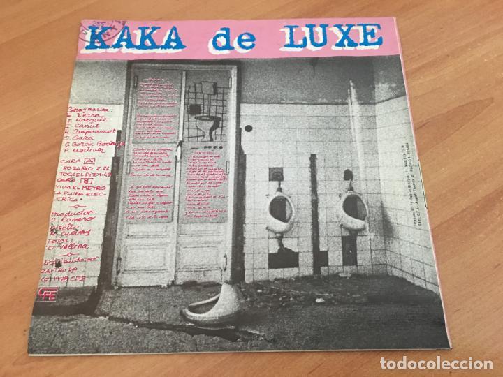 Discos de vinilo: KAKA DE LUXE ALASKA MOVIDA (ROSARIO +3) EP ESPAÑA 1978 PROMO (EPI12) - Foto 4 - 123542195