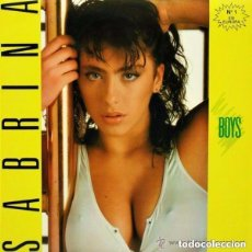 Discos de vinilo: SABRINA, BOYS - MAXI-SINGLE SPAIN 1987 (SOLO PORTADA). Lote 123565123