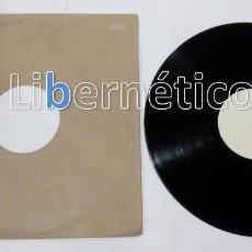 Discos de vinilo: NACHO DIVISION + ESSENTIAL + DEPOT... LP SONDEO DE MERCADO. Lote 123585511