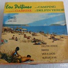 Discos de vinilo: LOS DELFINES -DELFIN VERDE + 3 EP 1970. Lote 123667787