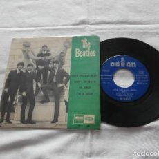 Discos de vinilo: THE BEATLES 7`EP ROCK AND ROLL MUSIC + 3 (1964) EDICION ORIGINAL ESPAÑOLA - BUENA CONDICION. Lote 123687079