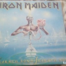 Discos de vinilo: IRON MAIDEN ‎– SEVENTH SON OF A SEVENTH SON. Lote 123689455