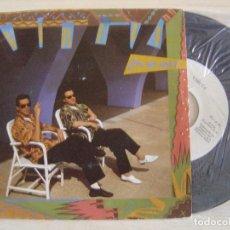 Discos de vinilo: VIRUTA - POR QUE SERA + CAMPANARIO - SINGLE PROMOCIONAL 1984 - ARIOLA. Lote 123691911