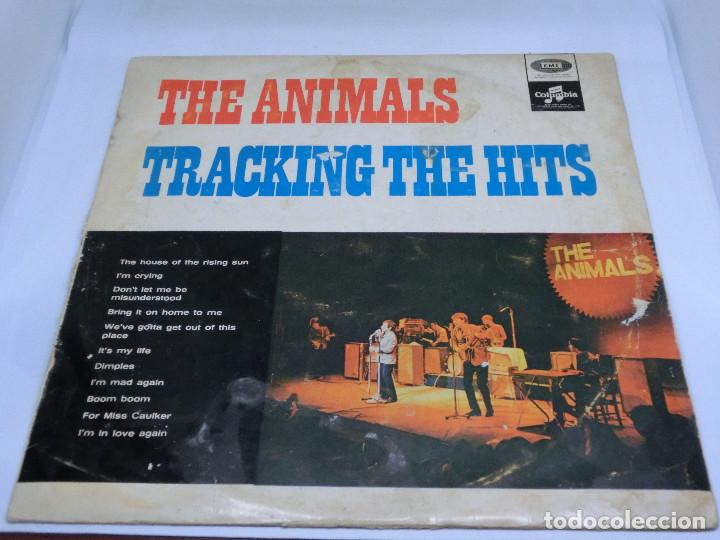 LP - THE ANIMALS - TRACKING THE HITS (Música - Discos - LP Vinilo - Pop - Rock Extranjero de los 50 y 60)