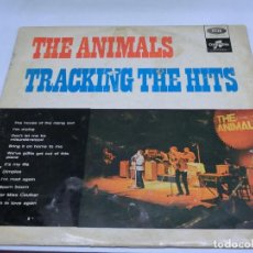 Discos de vinilo: LP - THE ANIMALS - TRACKING THE HITS. Lote 123713139