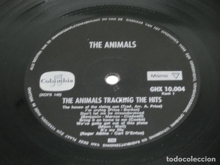 Discos de vinilo: LP - THE ANIMALS - TRACKING THE HITS - Foto 5 - 123713139