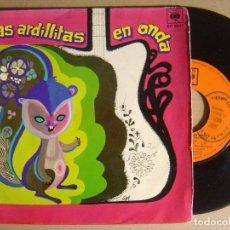 Discos de vinilo: LAS ARDILLITAS EN ONDA CON MILO Y SU CONJUNTO Y OSCAR CARDOZO - GABITO TENIA - EP 1968 - CBS. Lote 123714599