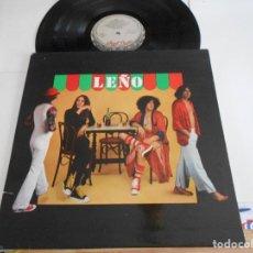 Discos de vinilo: LEÑO-LP LEÑO-PORT.ABIERTA-ENCARTE 1979. Lote 123745287