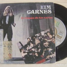Discos de vinilo: KIM CARNES - DRAW OF THE CARDS + BREAK THE RULES TONITE - SINGLE ESPAÑOL 1981 - EMI. Lote 123754251