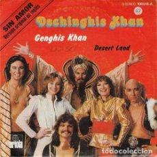 Dischi in vinile: GENGIS KHAN - DESERT LAND - SINGLE ESPAÑOL DE VINILO EUROVISION 1979. Lote 123765147