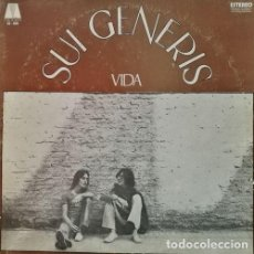 Discos de vinilo: SUI GENERIS - VIDA - LP 1ª EDICION ARGENTINA - ROCK PROGRESIVO. Lote 127629127