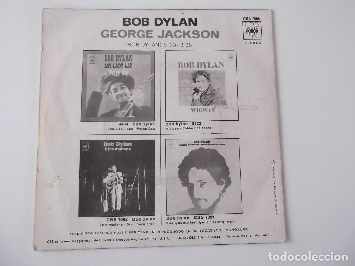 Discos de vinilo: BOB DYLAN - George Jackson - Foto 2 - 123784895