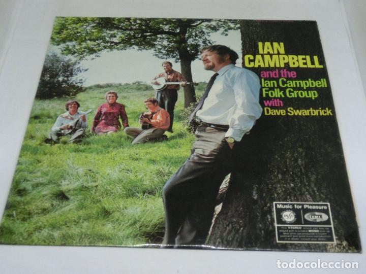 LP - IAN CAMPBELL AND THE IAN CAMPBELL FOLK GROUP WITH DAVE SWARBRICK - 1969 (Música - Discos - LP Vinilo - Pop - Rock Extranjero de los 50 y 60)