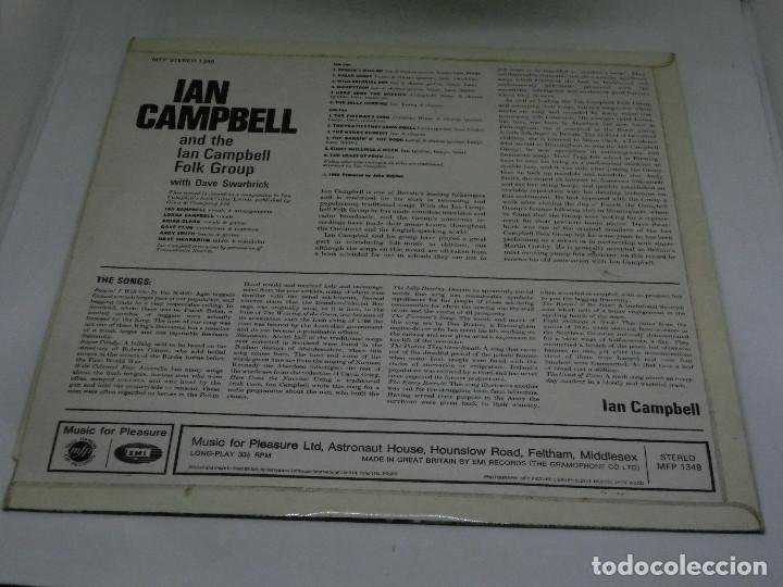 Discos de vinilo: LP - IAN CAMPBELL AND THE IAN CAMPBELL FOLK GROUP WITH DAVE SWARBRICK - 1969 - Foto 2 - 123785451