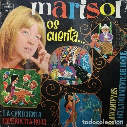 MARISOL - OS CUENTA - LP ESPAÑOL DE VINILO 1ª EDICION EN MONTILLA (Música - Discos - LP Vinilo - Solistas Españoles de los 50 y 60)