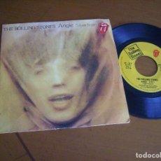 Discos de vinilo: 7'' : THE ROLLING STONES : ANGIE + 1 RARO SPAIN 1973 EX LEER DESCRIPCION. Lote 123811035
