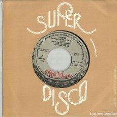 Discos de vinilo: MORIS SINGLE PROMOCIONAL LA CIUDAD NO TIENE FIN 1979. Lote 123839307