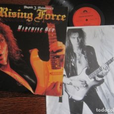 Discos de vinilo: YNGWIE MALMSTEEN RISING FORCE ´MARCHING OUT`. Lote 123580255