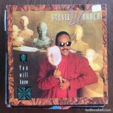 Discos de vinilo: STEVIE WONDER - YOU WILL KNOW - SINGLE MOTOWN UK 1987. Lote 123991279