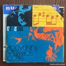 Discos de vinilo: ZARZUELAS - EP FUNDADOR 1972. Lote 124003527