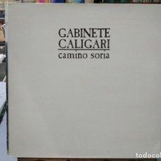 Dischi in vinile: GABINETE CALIGARI - CAMINO SORIA - LP. DEL SELLO EMI DE 1987. Lote 124013835
