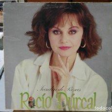 Discos de vinilo: ROCÍO DÚRCAL - JARDÍN DE ROSAS - LP. DEL SELLO 1984. Lote 124027527