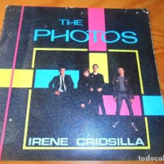 Discos de vinilo: THE PHOTOS- IRENE/ CRIDSILLA/ BARBARELLAS/ SHY - 1980 SPAIN EP 4 CANCIONES. Lote 124035747