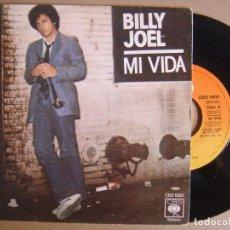 Discos de vinilo: BILLY JOEL - MI VIDA + 52ND STREET - SINGLE 1978 - CBS. Lote 124039575