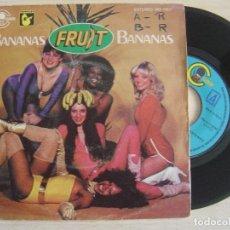 Discos de vinilo: FRUIT - BANANAS - SINGLE 1979 - CARNABY. Lote 124064971