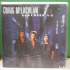 Discos de vinilo: LP. CRAIG MCLACHLAN - AND CHEK 1 - 2. Lote 124091899